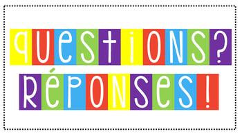 Affiches : Questions/Réponses