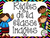 Affiches - Règles de la classe imagées