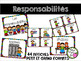 Affiches - Responsabilités