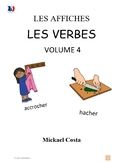 Affiches: Verbes, volume 4, French immersion (#203)