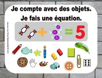 Maths Addition Strategies Affiches avec stratégies mathématiques