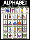 Affiches de classe: l'alphabet