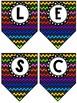 Affiches de classe: les nombres 1 à 10 et les couleurs