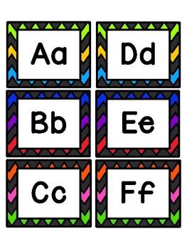 Affiches de classe: mur de mots