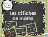 Affiches de mathématique