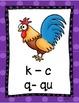 Affiches de sons consonnes ( s - k - v -g - j -f )