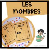 Affiches des Nombres, 0 à 10 - noir et blanc - French Numb