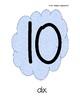 Affiches des nombres 1 à 100