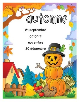 Affiches des saisons / seasons