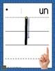 Affiches du tracé des chiffres 0 à 9