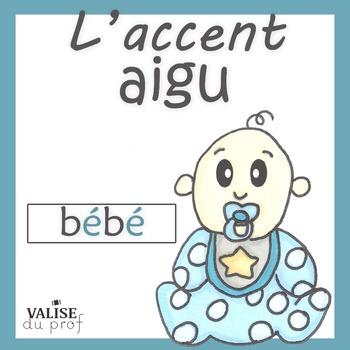 Affiches français - les accents