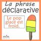 Affiches français - les types de phrases