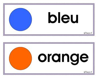 Affiches - les couleurs