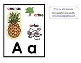 Affiches pour les sons de l'alphabet / French alphabet sound posters