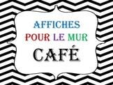 Affiches pour méthode CAFÉ