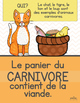 Affiches régime alimentaire des animaux - French animal posters