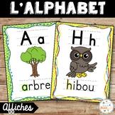 French alphabet - Affiches