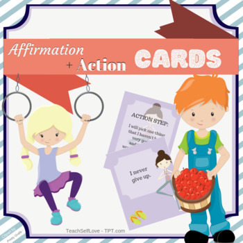 Affirmations for Kids - 36 Cards