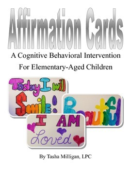 Affirmation Cards, a CBT Intervention for Elementary-Aged Children