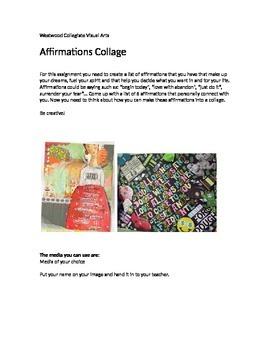 Affirmation Collage