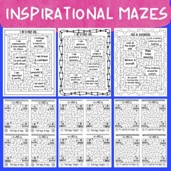Positive Affirmation Mazes