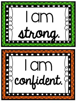Affirmation Posters