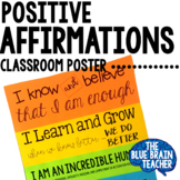 Affirmations Classroom Poster