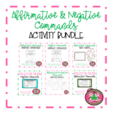 Affirmative & Negative Command Activity Bundle