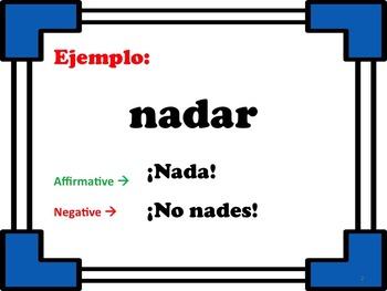 Affirmative & Negative Tú Commands