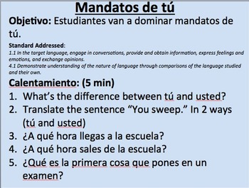 Affirmative Tú Commands in Spanish__Initial Presentation