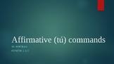 Affirmative Tu commands