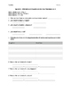 Affirmative and Negative Words Video Worksheet