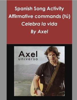 Affirmative commands tu/ Imperativo afirmativo tu/Spanish song / cancion
