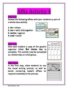 Affix Activity 4