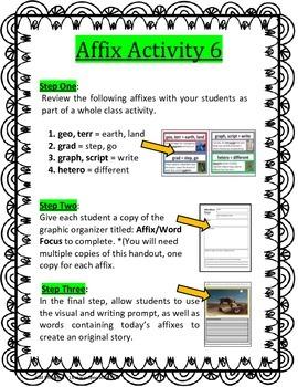 Affix Activity 6