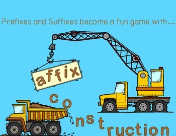 Affix Construction: Game to Practice Prefixes, Suffixes, a