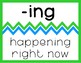 """Affix Posters - """"Bright"""" Blue and Green Chevron"""