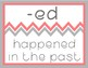 Affix Posters - Coral and Gray Chevron