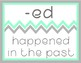 Affix Posters - Mint and Gray Chevron