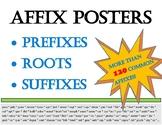 Affix Posters: Prefixes, Suffixes, Roots