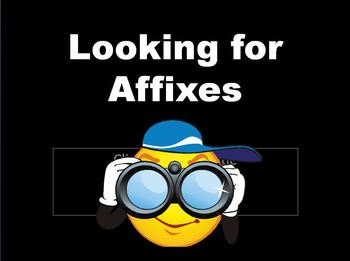 Affix (Prefix, Suffix, Root/Base Words) Notes, PowerPoint, Quizzes, & Worksheets
