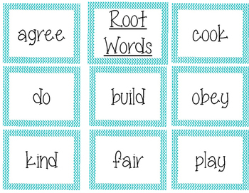 Affix Word Builder