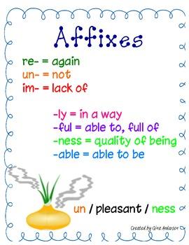 Affixes