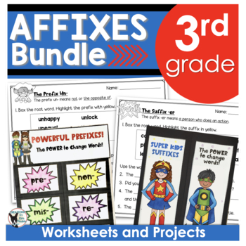 Affixes Bundle (Contains Powerful Prefixes and Superhero S