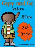 Affixes Copy and Go Centers FREEBIE