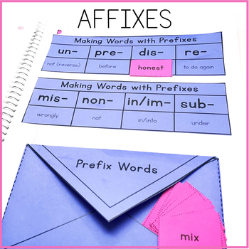 Affixes Interactive Notebook