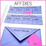 Affixes Interactive Notebook