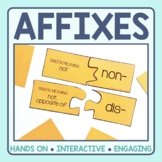 Affixes Matching Puzzles