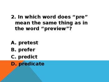 Affixes Practice
