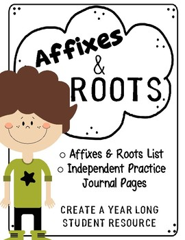 Affixes & Roots Student Journal